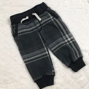 Other - Black and White Plaid Joggers